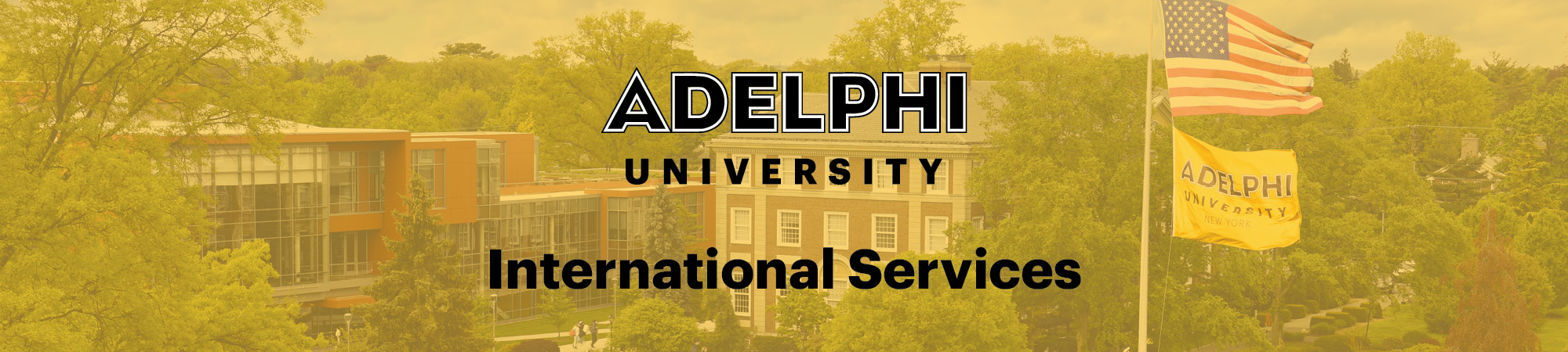 International Services - Adelphi University